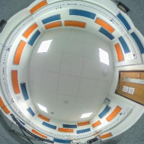 QUB Main Site Tower, Practice Room, Orange