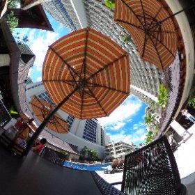 アウトリガーホテル360♪ #hawaii #waikiki #outrigger #theta360contest #theta360