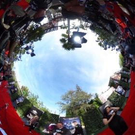 360 image @JohnNBCLA at the red carpet premiere of #WizardingWorldOfHarryPotter @nbcla #theta360