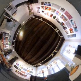 """UNITED"" international exhibition in Gologorski Gallery. #theta360"