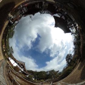 360度カメラの試し撮り、石塔寺 #theta360