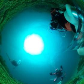 2019/04/07 OWD海洋実習@静浦 #padi #diving #フリッパーダイブセンター #静浦 #theta #theta_padi #theta360
