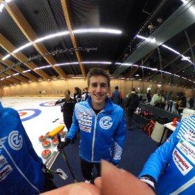 Curling Schweizermeisterschaft #theta360