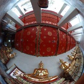 Wa Po, Bangkok, Thailand, Budda #theta360