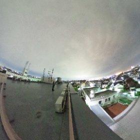 シェアハウス「SR Academia横浜磯子」B棟屋上