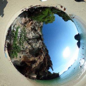 Railay Beach, Krabi Thailand, Ocean #theta360
