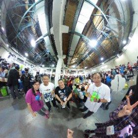 2018.11.04 Maker Faire Taipei 2018 - 猛龍過江的香港 Maker 強者 Jason Leung 來拜訪台灣Maker 強者 機甲人型師 林益誠 。