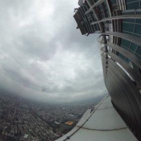 台北101展望台 #theta360