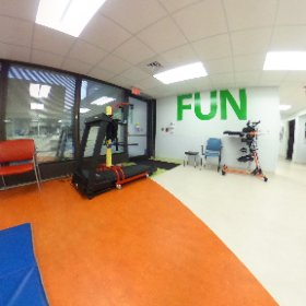 More of the outpatient #pediatric gym at MFB. #theta360