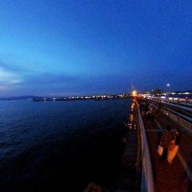 江ノ島トワイライトタイム #theta360