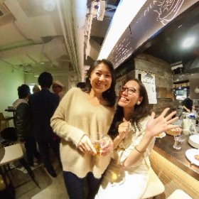 Tomo's Birthday Party, Tokyo トモの30歳のバースデーパーティ #theta360