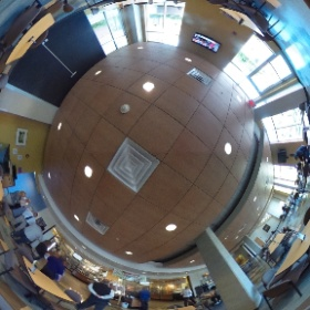 Riverview dining #theta360