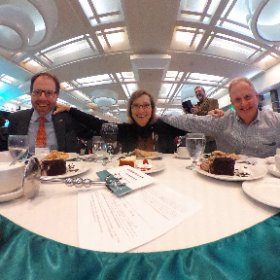 Administration table at @mwhof induction ceremony for our Guild. #askformary #theta360