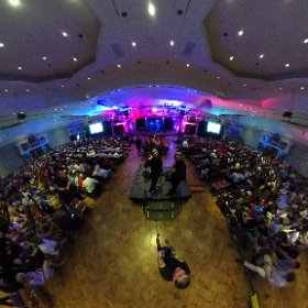 A view just before Opening Ceremonies starts. #theta360