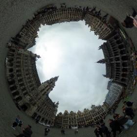 #brussel #visitbrussel #grotemarkt #brussels  #theta360