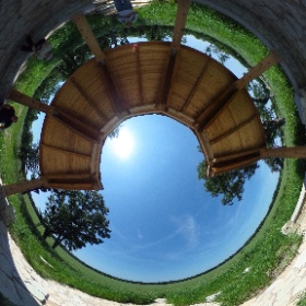 Prairie overlook at Dixon Waterfowl Refuge yesterday.  #theta360
