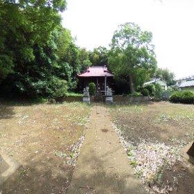 小山日枝神社。 #theta360