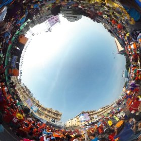 Sihanoukville carnival at the end of the parade :) #theta360