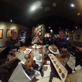 Lunch with best friends. #theta360