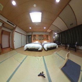 新安比温泉静流閣  昨年リニューアルした「禁煙和洋室」を360°で。  広いお部屋でリピーターも多くなりました。  岩手県へお越しの際は、是非お塩の温泉でのんびりしてください!  http://www.sinappi.jp/