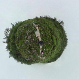 妙高山(火打山)天狗の庭(前庭) #theta360