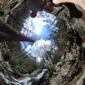 Laurels Fall waterfall Great Smoky Mountains