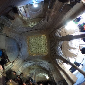Hall of the Kings, Alhambra #theta360uk