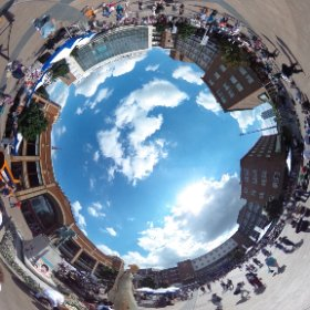 Festival Of Imagineers / Godiva Awakes, Broadgate, Coventry, Sat 8 August 2015 #theta360