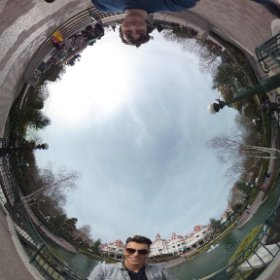 First shoot at Disneyland Paris Done! #kvds360