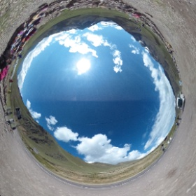 標高4300mのラ・ラヤ峠・ちょっと走っただけで息切れする。 #theta360