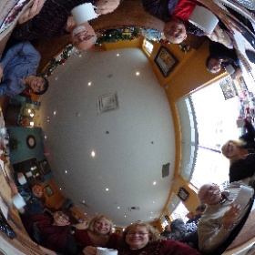 Brunch surprise pour la retraite de Louise #theta360 #theta360fr