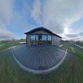 Bowland Lodge, Wenningdale Escapes, High Bentham. #theta360 #theta360uk