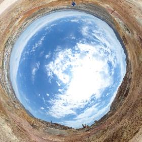 Hoy en el Coto Minero de Mazarrón haciendo trabajos varios. #theta360