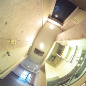 コスモシティ市ヶ谷 216号室 キッチン #theta360