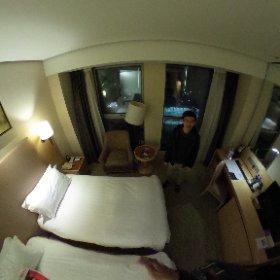 上海富豪金豐酒店房內360 #theta360