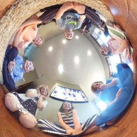Mya's First Communion 360 Picture