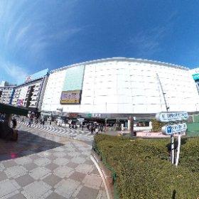 2018池袋駅東口(東京都豊島区) #theta360