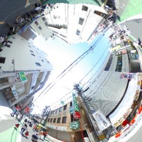 まるななマーケット&越谷アサイラム #theta360