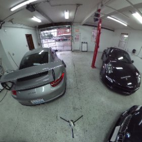 360 VR Tour of @craftdetailing. we have a Lambo Gallardo, Porsche GT3RS, GT4, Turbo S, & BMW Z4.