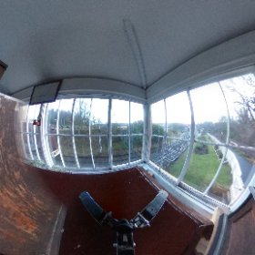 shot at Beamish open air museum in County Durham of the inside of the train signal office  #theta360 #theta360uk
