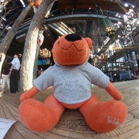 中国の至る所にあるカフェチェーン店マンカフェ、お持ち帰りを頼んだらテディベアをくれる!(◎_◎;) ワシのんはオレンジ熊さん6番(笑) お洒落なカフェで中年のおっさんが熊さんとにらめっこしながらコーヒーを待つの図(>_<)