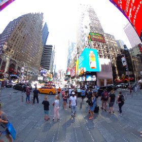 Times Square - Manhattan -  New York #theta360
