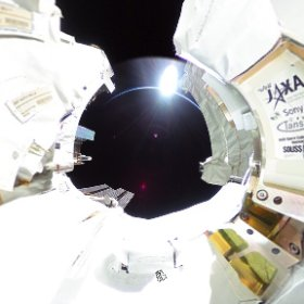 this picture is out of the world #theta360