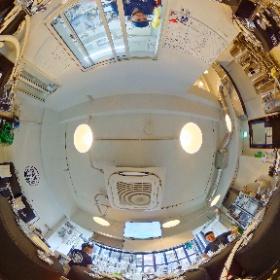 TOKYO ALE WORKS [板橋] の醸造所 360度パノラマ画像。