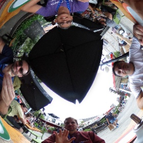 Compinches. #theta360