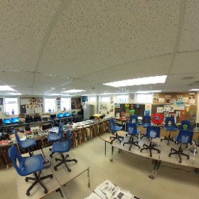 @osstmarys Art room. #theta360