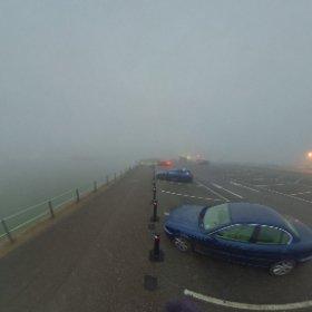 a foggy dusk @mudefordquay  #theta360 #theta360uk