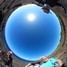 360 Photo 10 of our #HawaiiTrip December 30, 2019. South Point (Ka Lae) - southernmost point in U.S. #RememberingJeri  #theta360
