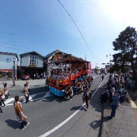 2018日高火防祭①'(岩手県奥州市) #theta360