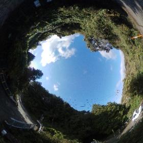 暗越奈良街道 最大勾配 #theta360